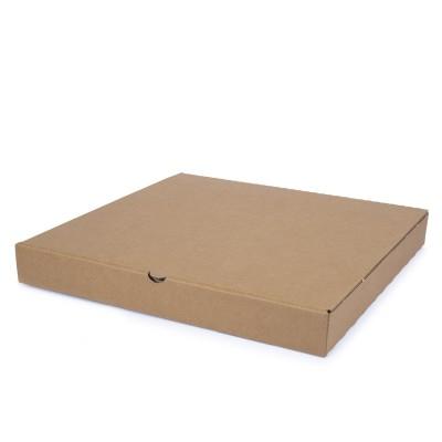 Brown Cardboard Pizza Box 33x33x4cm | 100pcs