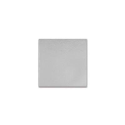 Square Cardboard Cake Base 16.5x16.5cm - Silver | 50pcs