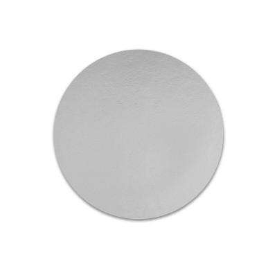 Round Cardboard Cake Base ⌀239mm - Silver for 2.5H | 100pcs