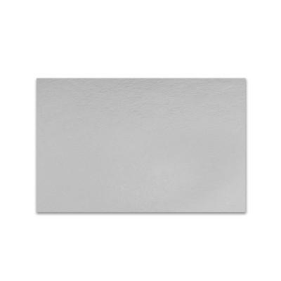 Rectangular Cardboard Cake Base 35x25cm - Silver | 50pcs