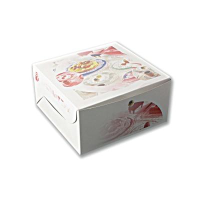 Printed Paper Cake Box 20x20x10cm | 100pcs