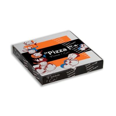 Cardboard Pizza Box 28x28x4cm | 100pcs