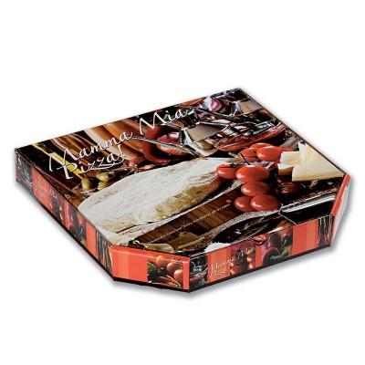 Cardboard Pizza Box 28x28x4cm - Premium | 100pcs