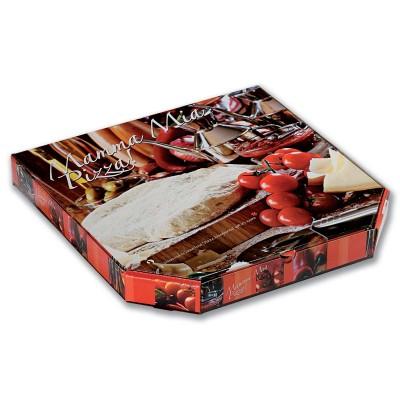 Cardboard Pizza Box 33x33x4cm - Premium   100pcs