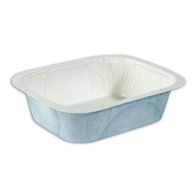 Greaseproof Paper Container 16oz - White   25pcsx24pkts