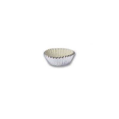 Paper Cake Case ⌀25x18mm - Silver | 1000pcsx50pkts