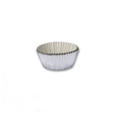 Paper Cake Case ⌀40x30mm - Silver | 1000pcsx25pkts