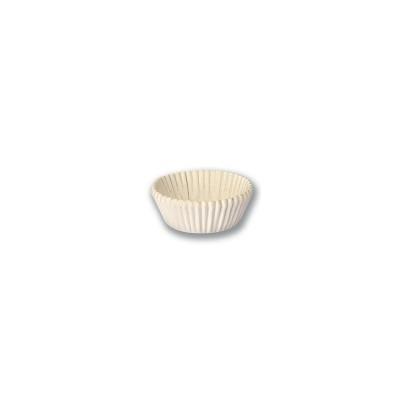 Paper Cake Case ⌀40x15mm - White   1000pcsx50pkts