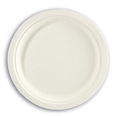 Biodegradable Moulded-Fibre Plate ⌀10in | 50pcsx20pkts