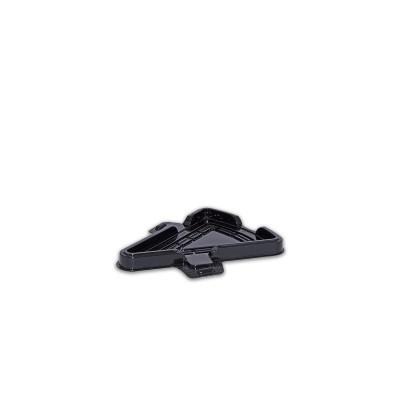 Pastripac PET Black single pc Cake Box 151x126x12.5mm | 200pcs
