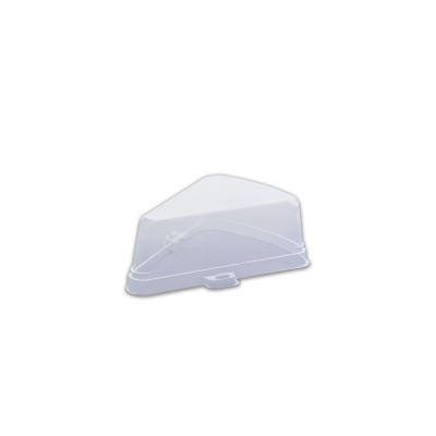 Lid for Pastripac single pc Cake Box PET Transparent 151x115x53mm | 200pcs