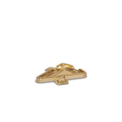 Pastripac Pet Gold Metalic single pc Cake Box 151x126x12.5mm   200pcs