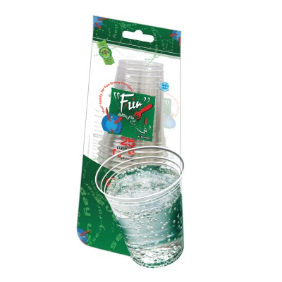 Fun® Clear Plastic Cup 12oz | 25pcsx40pkts