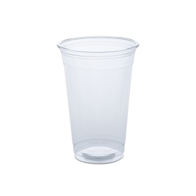 Clear Plastic Cups 20oz - PET   50pcsx20pkts