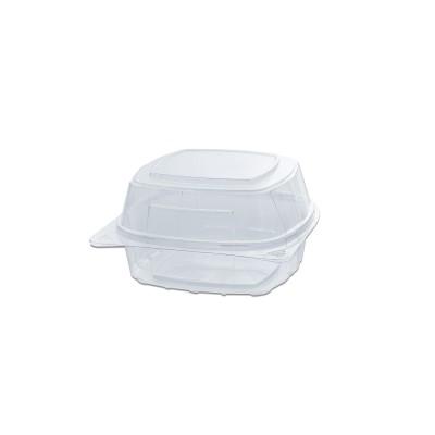 Crustipac Square Clear Pack 150x150x80mm - PET | 480pcs