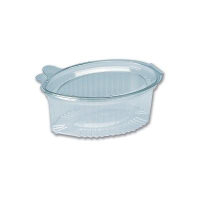 Tinypac Clear Leaf-Shaped Portion Cup w/ Lid 100cc   1000pcs