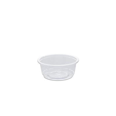 Towerpac Clear Round Container w/ Screw Base 100cc - PP | 1000pcs