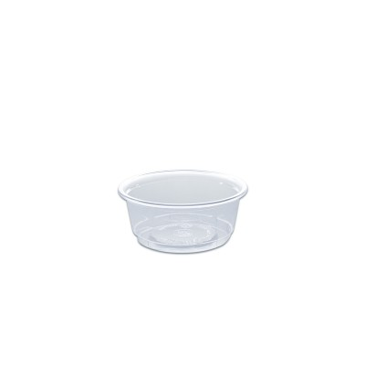 Towerpac Clear Round Container w/ Screw Base 100cc - PET | 1000pcs