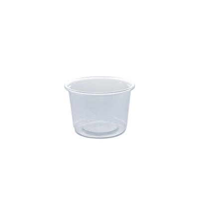 Towerpac Clear Round Container w/ Screw Base 200cc - PET   1000pcs