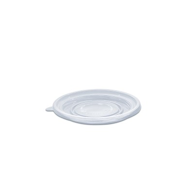 Towerpac Lid w/ Screw for Clear Round Cont. TP250/750T - PET | 100pcsx5pkts