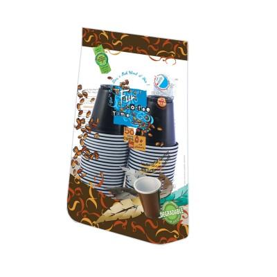 Fun® Plastic Espresso Cup 3oz - Assorted Colors | 50pcsx20pkts