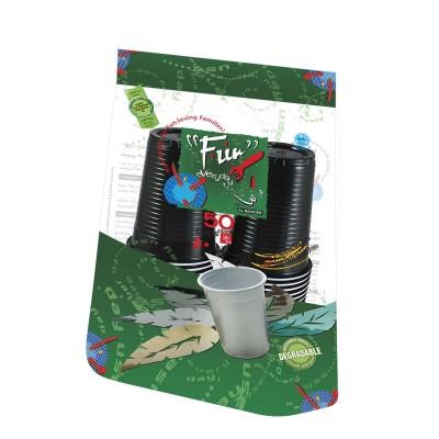 Fun® Plastic Cup 6oz - Assorted Colors | 50pcsx20pkts