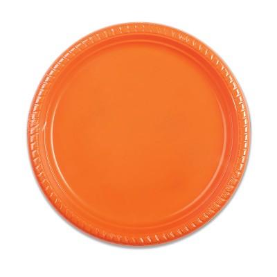 Plastic Plate ⌀25cm - Citrus | 10pcsx25pkts