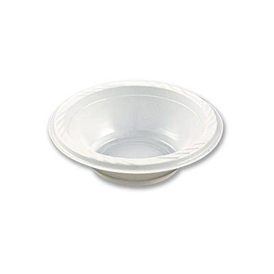 Plastic Bowl ⌀15cm - White | 50pcsx10pkts