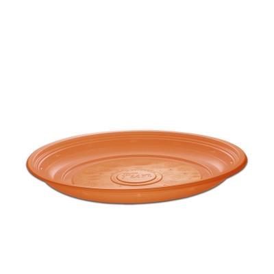 Roundpac Round Plate ⌀26cm - PP/Orange Deluxe | 25pcsx10pkts