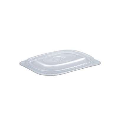 Tutipac Dome Lid for 08/16oz w/ Spork Snap Cold Multipurpose Containers PET   600pcs