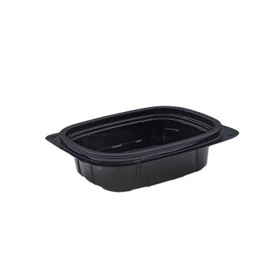 Tutipac Black Hot Multipurpose Containers 8oz PP | 600pcs