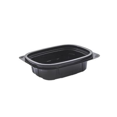 Tutipac Black Cold Multipurpose Containers 8oz PET   600pcs