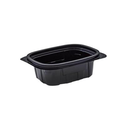 Tutipac Black Hot Multipurpose Containers 12oz PP | 600pcs
