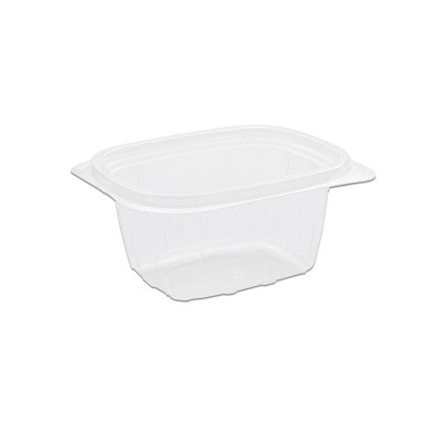 Tutipac Clear Hot Multipurpose Containers 16oz PP | 600pcs