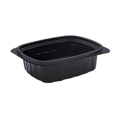Tutipac Black Hot Multipurpose Containers 24oz PP   300pcs