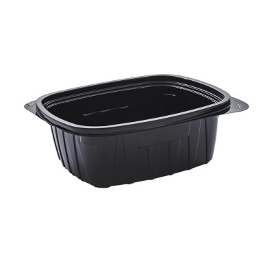 Tutipac Black Cold Multipurpose Containers 32oz PET | 300pcs