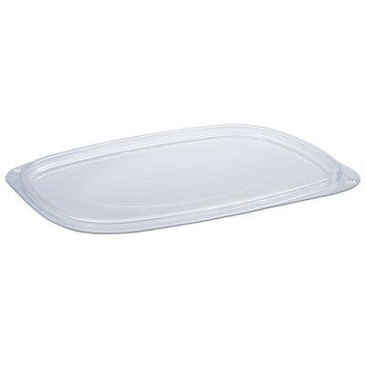 Tutipac Flat Lid for 36/64 oz Cold Multipurpose Containers PET | 250pcs