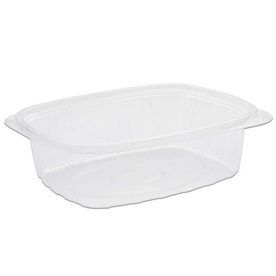 Tutipac Clear Hot Multipurpose Containers 48oz PP | 250pcs