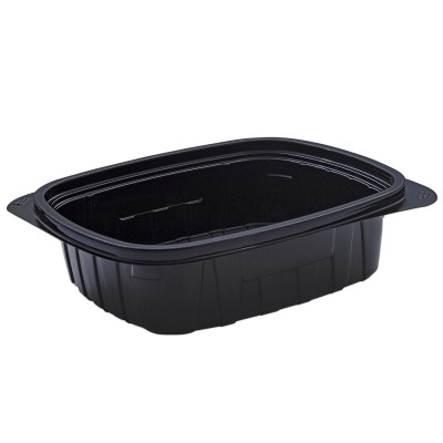 Tutipac Black Hot Multipurpose Containers 48oz PP | 250pcs