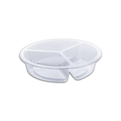 Combopac 3-Comp. (8+8+8oz) Clear Container | 400pcs