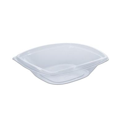 Classipac Clear Plastic Square Container 24oz - PET | 50pcsx6pkts