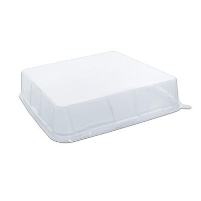 Gourmetpac Trans. Flat Lid for 05GBS27-BL - 279x279x60mm PET | 180pcs