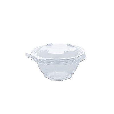 Classipac Tear and Pull Clear Round Container 12oz - PET | 300pcs