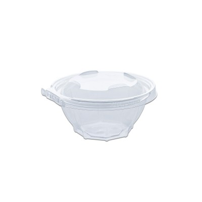 Classipac Tear and Pull Clear Round Container 16oz - PET   300pcs