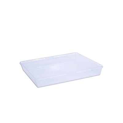 Cristalpac Clear Rectangular Plastic Box (Cap:1kg) - PS | 60pcs