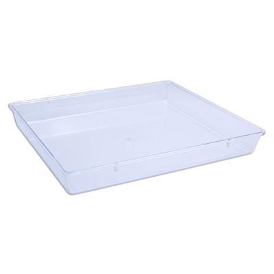 Cristalpac Clear Rectangular Plastic Box (Cap:2kgs) - PS   60pcs