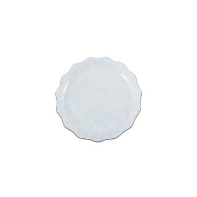 Cristalpac Crystal-Like Plastic Platter ⌀18x2cm - PS | 10kgs