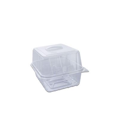 Pastripac Viennese-Croissant Box w/ Handle 180x150x120mm PET | 190pcs