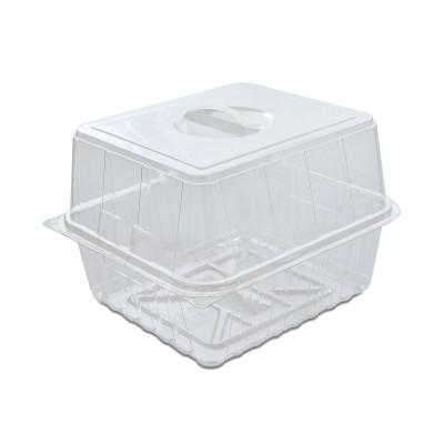 Pastripac Viennese-Croissant Box w/ Handle 200x180x150mm PET | 200pcs
