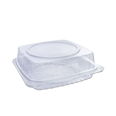 Pastripac Clear Confectionery Box 220x220x65mm PET | 140pcs